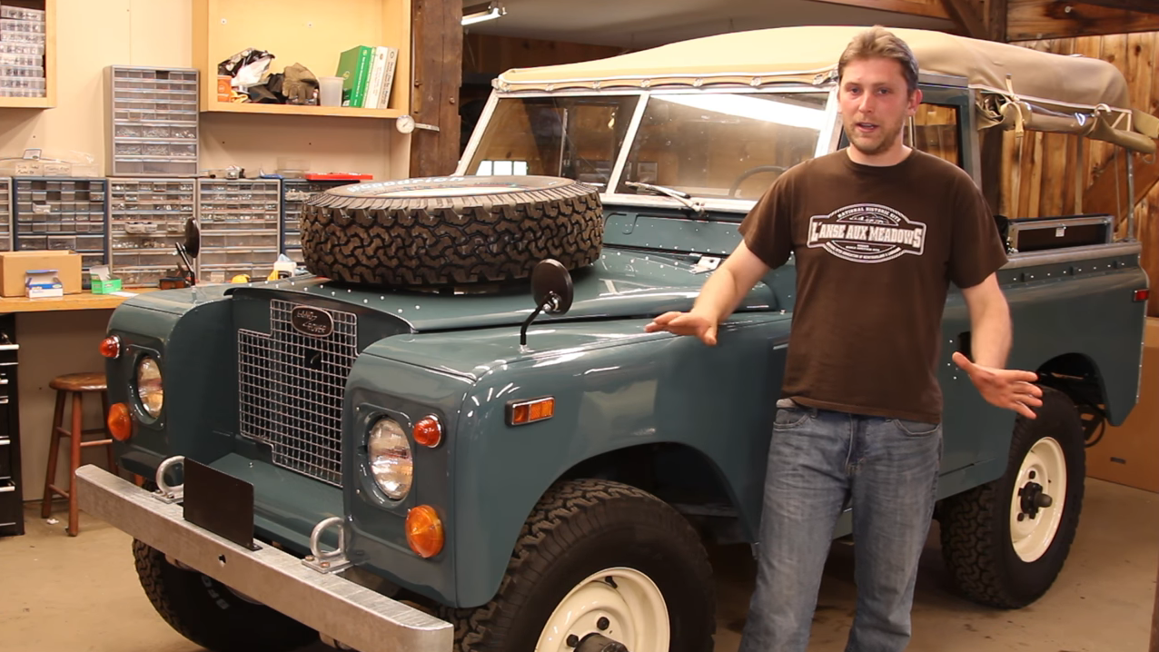 Neues Video: 1970 Land Rover Series IIa Restoration - Der Land Rover Treff