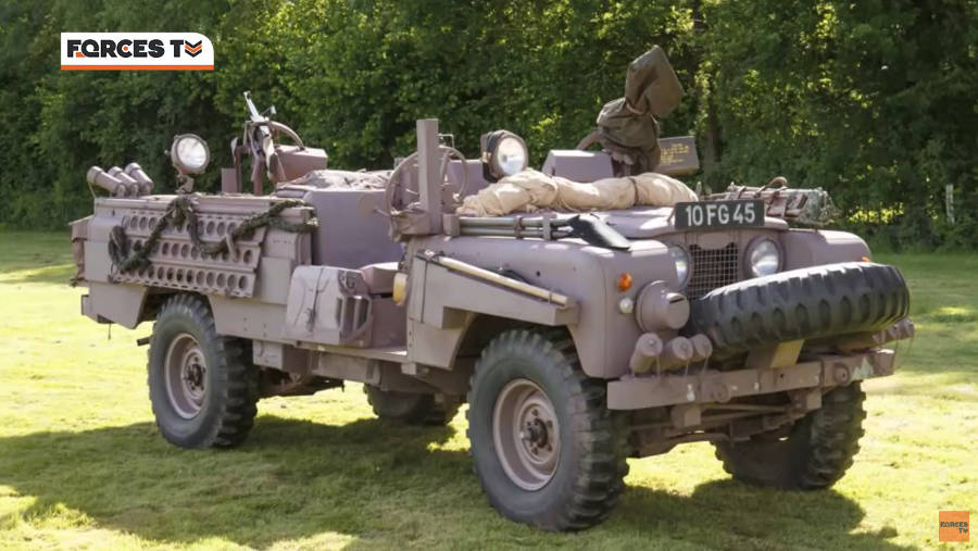 Neues Video: Land Rover Defender: A Military Marriage - Forces TV - Der Land Rover Treff