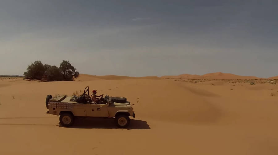 Neues Video: Desert Land Rover - Der Land Rover Treff