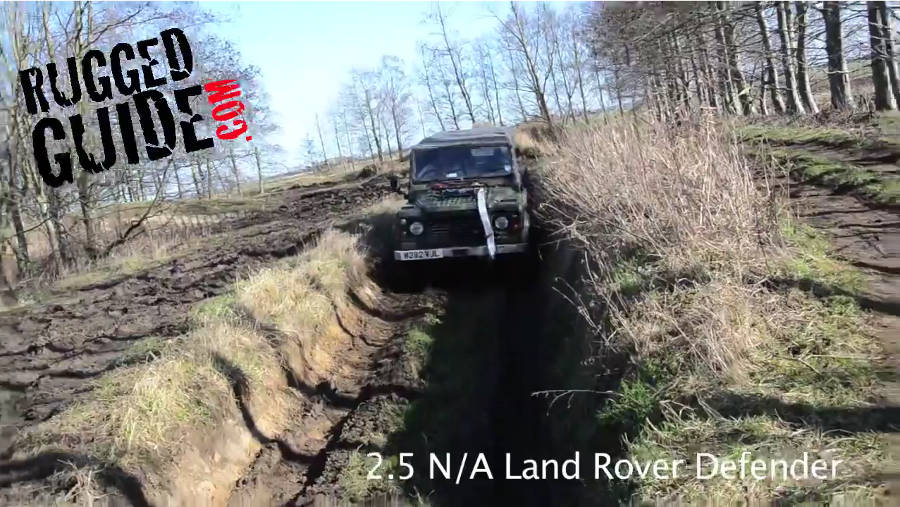 Neues Video: Driving an Ex Military Land Rover Defender Off Road - Der Land Rover Treff