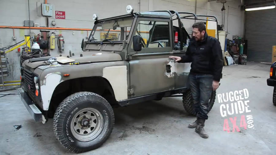 Neues Video: Land Rover Defender 90 LHD Rebuild Start Part 1 - Der Land Rover Treff