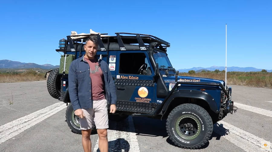 Neues Video: My Land Rover Defender Overland Vehicle Walk Around And Review - Der Land Rover Treff