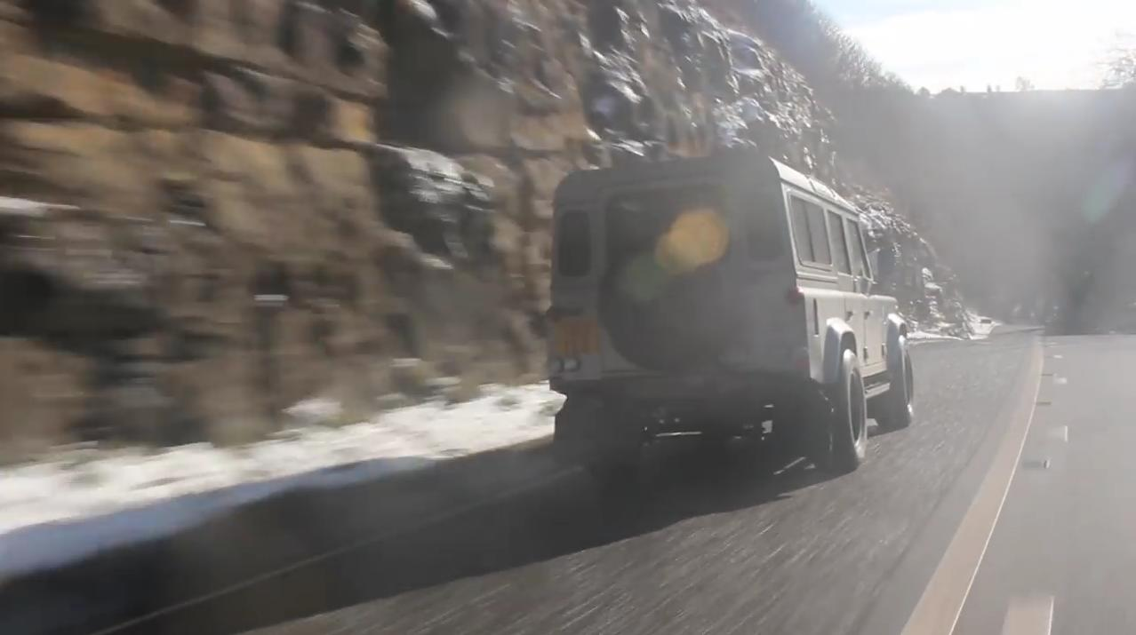 Neues Video: Protecting and Perfecting the Defender - DRIVEN auf Der Land Rover Treff