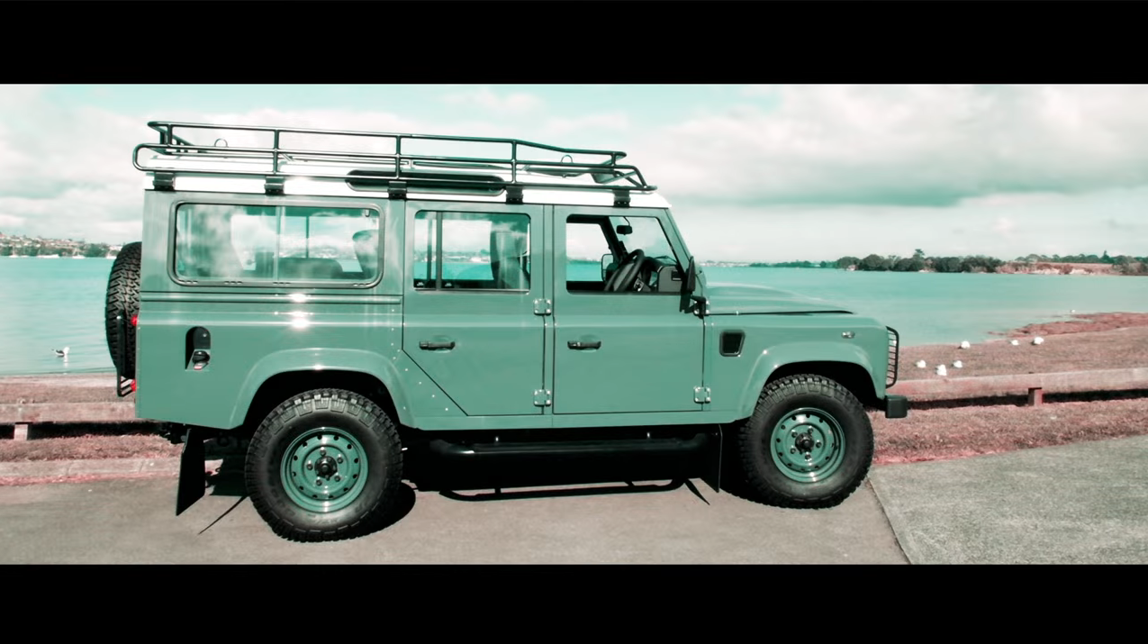 Neues Video: Neues Video: Land Rover Defender - REVIEW - goodbye old friend - Der Land Rover Treff